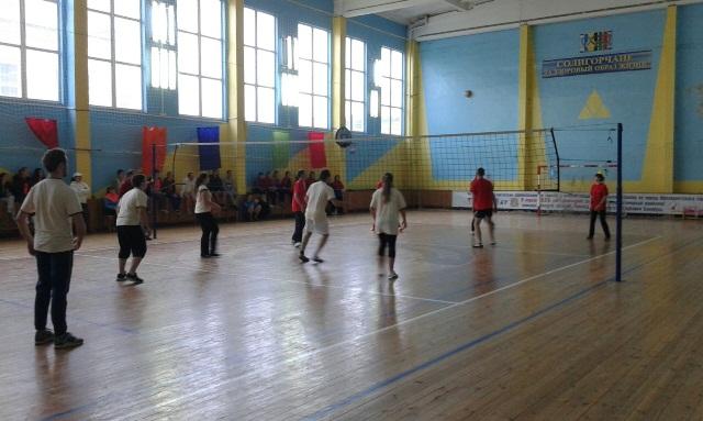 Спортивный зал ФСК Солигорского района